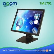 Per System Peripherals 1280 * 1024 17 pulgadas pantalla táctil LCD Display POS Monitor