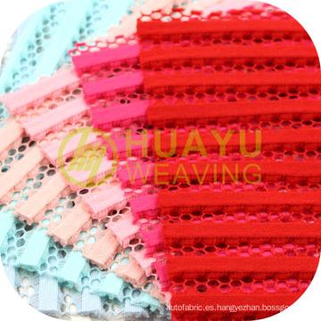 Forme el uso de la tela de la malla para el material que se viste superior de la ropa