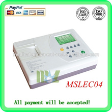 Wholesale Three channel EGC machine Automatic analysis of digital ecg machine(MSLEC04)
