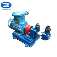 High viscosity oil transfer electric three screw pump