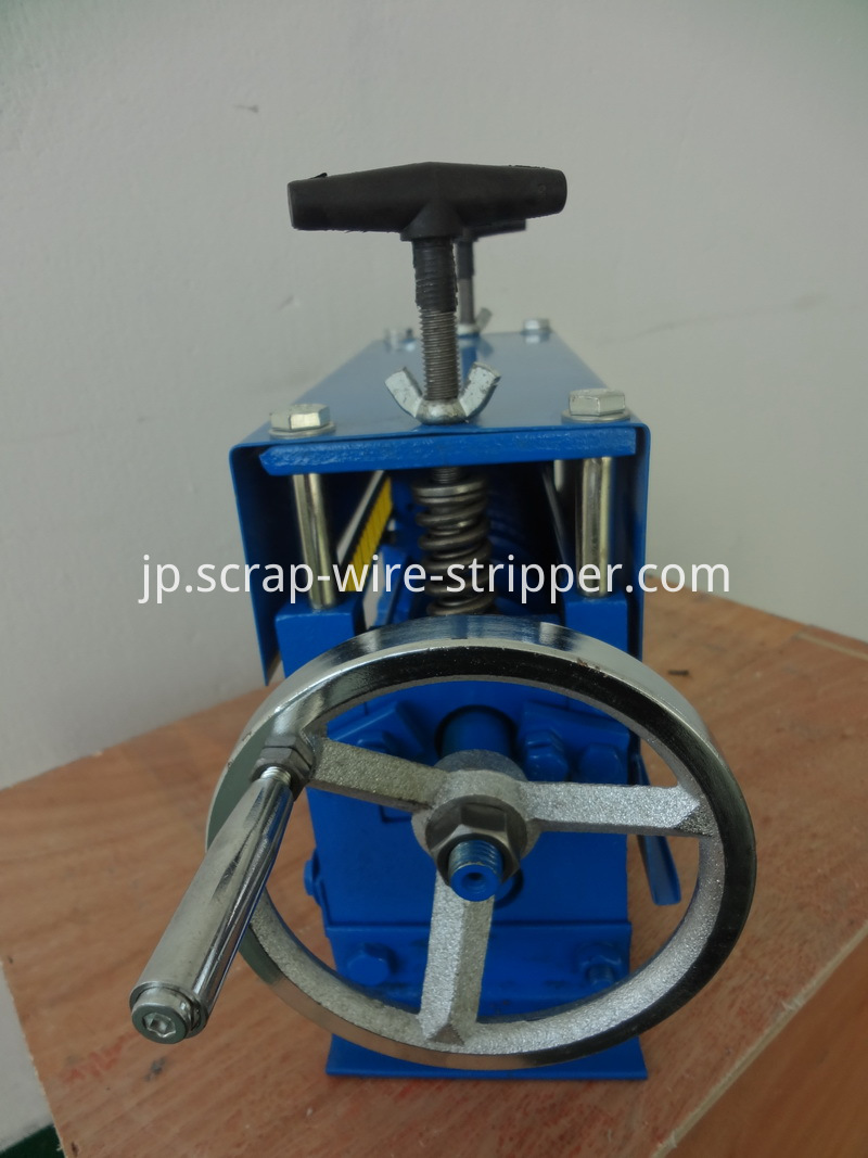 homemade copper wire stripping machine