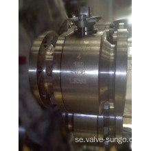 Floating ball valve 4 tum