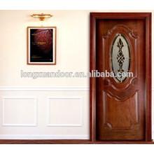 Porta de madeira esculpida em estilo de Dubai