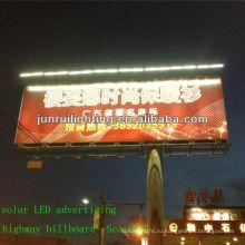 Система освещения Professional CE открытый солнечной вывеска с LED; рекламные световые (JR-960)