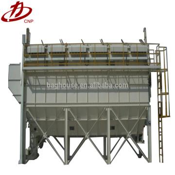 Máquina de eliminación de polvo de filtro de bolsa de cemento industrial