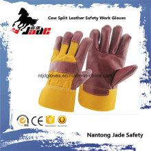 Cuero Trabajo De Cuero Seguridad De La Mano Guante Industrial