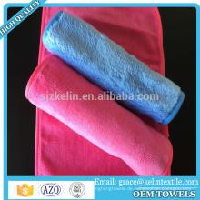 USA Markt rosa und schwarz 100% Mikrofaser Handtuch Make-up