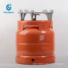 6kg Portable LPG Cylinder with Burner