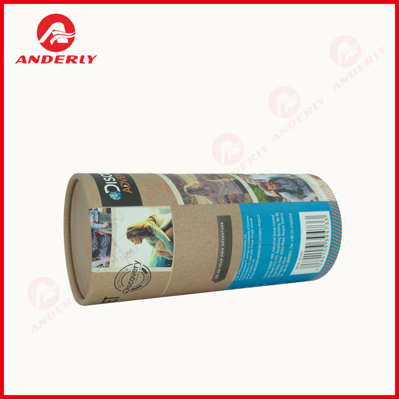 Customized Clothes Paper Tube