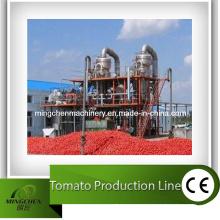 Linha de produção de ketchup de pasta de tomate
