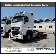China Best Man HOWO T7h Tractor Truck with 6X4