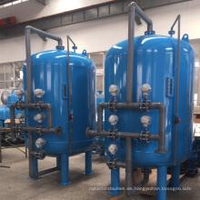 Recipientes de presión de filtro industrial de arena con revestimiento interior de caucho