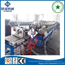 Sistema de estantería w sección sigma purlin acero rolling equipment
