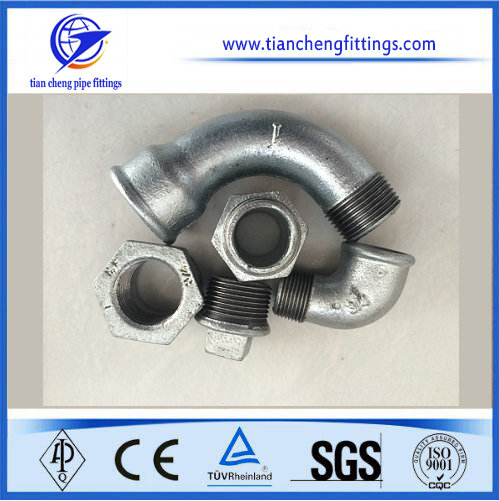 Hot Dip Galvanizing 4 Inch Steel Pipe Fittings