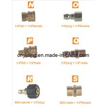 """Connecteur rapide en laiton (1/4 """"QD + 1/4"""" femelle)"""