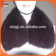 Fox Fur / Leather Jacket Fur Collar