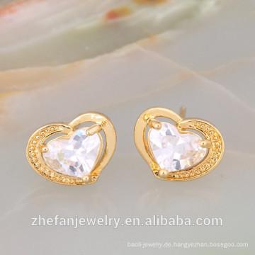 Unendlichkeit Sterling Silber Schmuck Günstigste Opal RubyStud Ohrringe Rhodium überzogene Schmuck ist Ihre gute Wahl