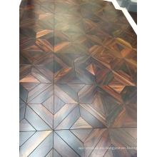 Suelo de parquet de Rosewood de estilo europeo en Indonesia