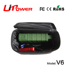 Démarreur de démarrage de secours multifonction 12000mA mini amplificateur de batterie 12V avec micro entrée pour appareils numériques Android
