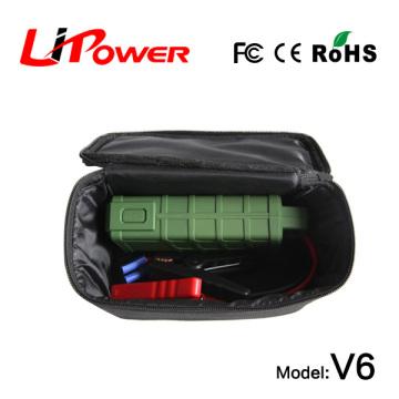 Multifunções carro emergência jump starter 12000mA bateria mini reforço 12V com micro entrada para android digitals