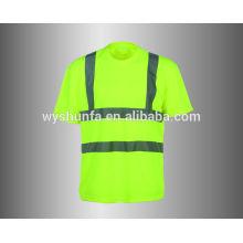 Camiseta del cuello de equipo de la clase 2