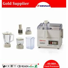 Processador de Alimentos Multifuncionais 4 em 1: Espremedor, Liquidificador, Picador, Moedor, Filtro