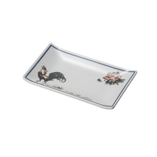 Plat de mélamine de sushi / plat de rectangle de mélamine (4102)