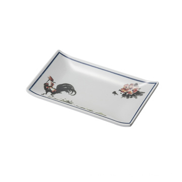 Melamine Sushi Plate/Melamine Rectangle Plate (4102)