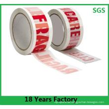 Heißes Verkaufs-Qualitäts-kundenspezifisches selbstklebendes Druckband