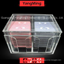 Baccarat Discard Poker Holder Box (YM-DH01)