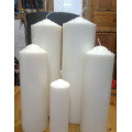 white church candle Church Candle Pillar Candle