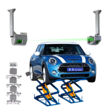 Automatic 5D Wheel Alignment