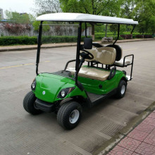 Special for 2+2 Seaters Gas Golf Carts 4 seater electric mini golf cart with electric power supply to Malaysia Manufacturers