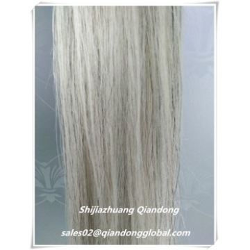 Pelo Bianco Falso Cavallo Tail Hair