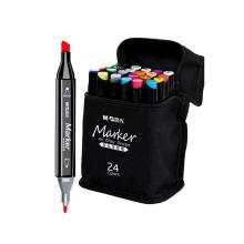 Andstal 30/40/60/80colors Art Markers for Comics Double Head Alcohol Permanent Marker Pen School Paint Marker