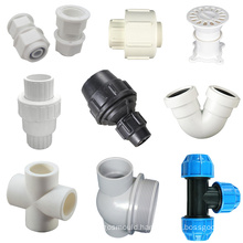 custom product design high precision injection molding plastic pipe extruder mold pvc hdpe pipe fitting moulds
