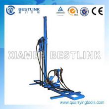 Alta eficiencia móvil multi-taladro martillo máquina para agujero de Split
