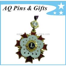 Insigne en souvenir en métal avec Soft Cloisonne (badge-027)