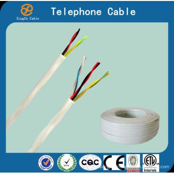 4c Jacket Cable de teléfono al aire libre de PVC