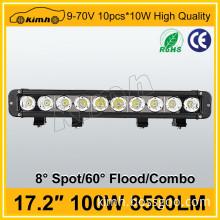 China manufacturer 100w off road 4x4 led spot light