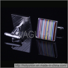 VAGULA abotoaduras desenhador coloridos botões de punho (Hlk31718)