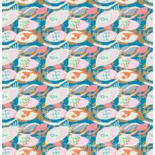 Модные Купальники Ткань Цифровая Печать АСК-020