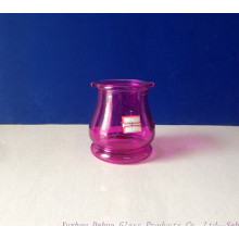 300ml Colored Glass Candlestick Holder High Quality
