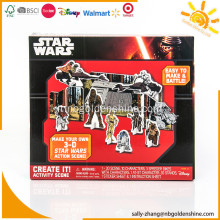 Crea la tua azione in 3D Star War Action Scene