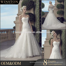 Hochwertige nach Maß reizvolle Hochzeits-Erstnachtkleider