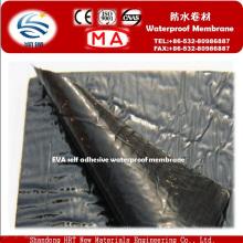 Matériau de rouleau imperméable auto-adhésif pour le tunnel