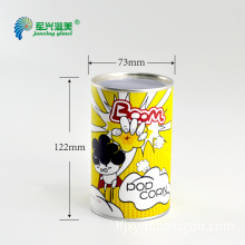 high quality paper packaging tube with sifter for loose powder with CMYK printing