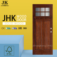 JHK Caronized Silver Bali Wood Interior Door