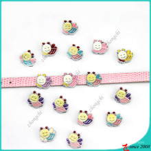 Cute Bee Slide Charms DIY Bracelet Charms (SC16040959)