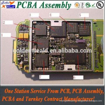 Assemblée de circuit imprimé de carte PCB Fabricant de PCBA d'électronique, Assemblée de PCBA, fabricant d'Assemblée de carte PCB